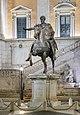 Replica of the Equestrian statue of Marcus Aurelius in Rome (2).jpg