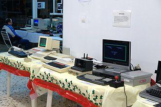 Retrocomputing - Retrosystem 2010, a retrocomputing event in Athens