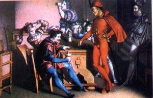 Moritz Retzsch - Scene from Faust