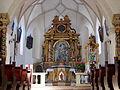 Revò Italien Chiesa di S. Maria Carmelo Innenraum.jpg