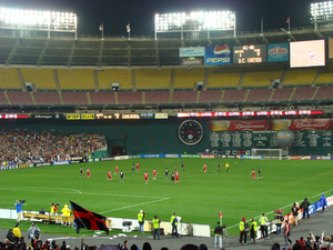 MLS Cup 2000 - Robert F. Kennedy Memorial Stadium hosted the MLS Cup Playoffs final for the second time.