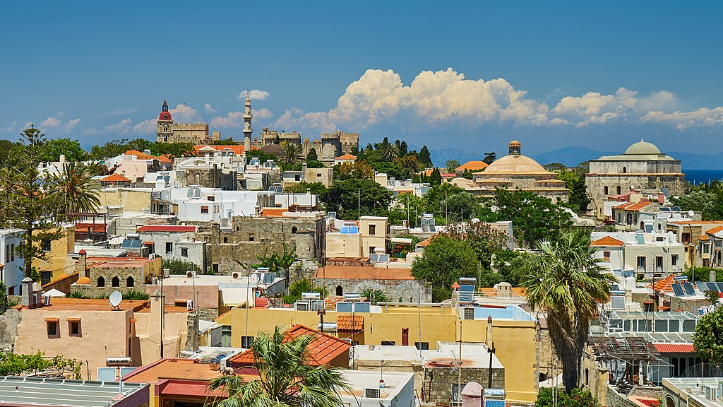 Rhodos, View of the Medieval city 03