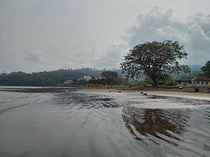 Riaba - Riaba from its beach, 2013