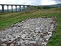 Ribblehead Viaduct Construction Site - geograph.org.uk - 503611.jpg