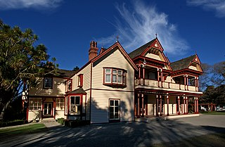 Riccarton House Historic building in Christchurch, New Zealand