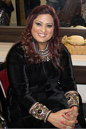 Richa Sharma (singer) - Richa Sharma performing at Bhopal for Lokrang 2016