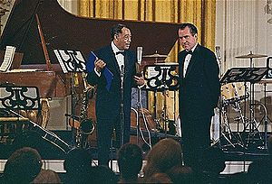 Music of Washington, D.C. - Duke Ellington receiving the Presidential Medal of Freedom in 1969