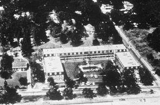 Hurricane Camille - Richelieu Apartments before Camille