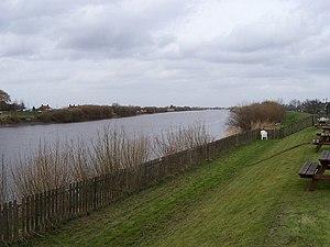 Scotter - River Trent at Susworth