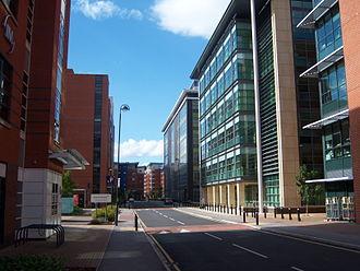 Sheffield City Centre - Riverside Exchange