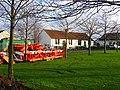 Roadworks suspended, Macmerry. - geograph.org.uk - 96859.jpg