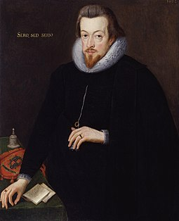 Robert Cecil, 1st Earl of Salisbury. Painting by John de Critz the Elder, 1602. Robert Cecil, 1st Earl of Salisbury by John De Critz the Elder (2).jpg