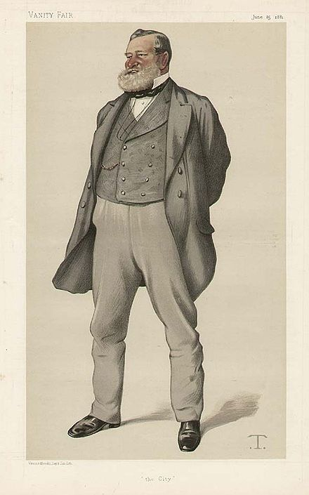 """The City"" Fowler as caricatured by Theobald Chartran in Vanity Fair, June 1881 Robert Nicholas Fowler Vanity Fair 25 June 1881.jpg"