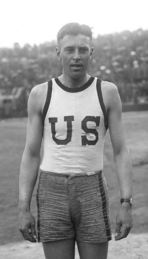 Robert Simpson (athlete) - Robert Simpson in 1919