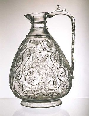 Fatimid art - Image: Rock crystal ewer