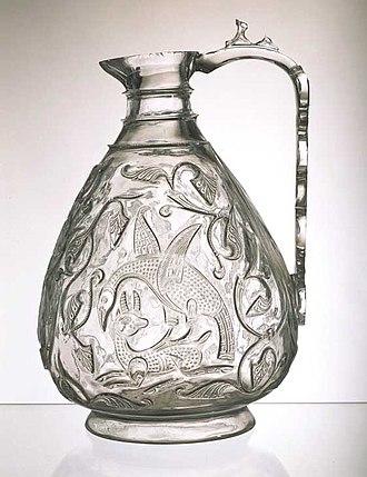 Fatimid art - Image: Rock crystal ewer