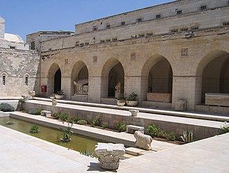 Rockefeller Museum - Rockefeller Museum inner courtyard.