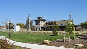 Rocklin, California - Amtrak station.jpg