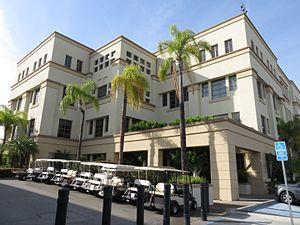 Legacy of Gene Roddenberry - The Roddenberry Building on the Paramount Pictures lot in Hollywood