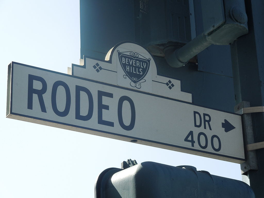 File Rodeo Drive Sign In Beverly Hills California Jpg