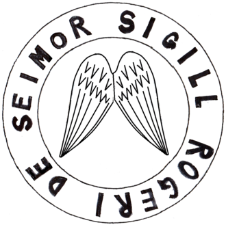 Penhow, Newport - Image: Roger De Seymour Seal Circa 1299