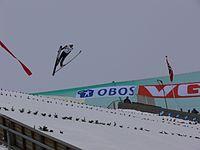 Rok Urbanc at the Holmenkollen 2005 (2)