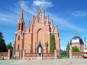 Rokiškis - Rokiškis Church of St. Matthias