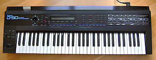 Roland D-50 polyphonic 61-key synthesiser produced by Roland