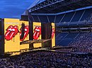Rolling Stones Yellow Logo pre-show 14 August 2019 Seattle.jpg