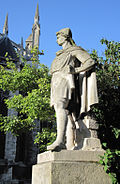 Rollo of Normandy statue Rouen c