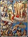 Roma, Basil. di San Pietro- Particol. volta della Cappella Sistina - panoramio.jpg