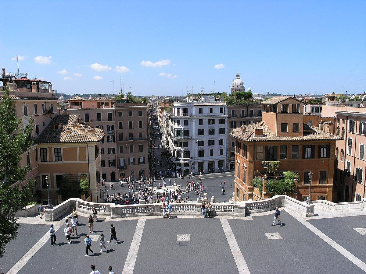 Piazza di spagna wikip dia for Affitto roma porta di roma
