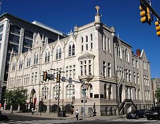 Roman Catholic High School - The school in 2013