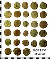 Roman Coin Hoard. Treasure case no. 2008 T558 (obverse) (FindID 234163).jpg