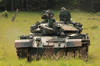 TR-85 - A TR-85M1 during a multinational exercise in Germany, 2014.