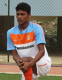 Romeo Fernandes Indian footballer