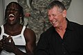 Ron Killings & Vince McMahon laughing.jpg