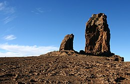 Roque Nublo, natural symbol of the island.