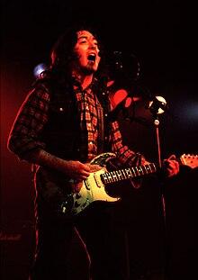 Gallagher in concerto (1980 ca.)