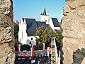 Rotweinfest in Ingelheim bei der Burgkirche - panoramio.jpg