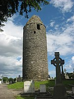 Round Tower at Dromiskin, Co. Louth - geograph.org.uk - 1775014.jpg