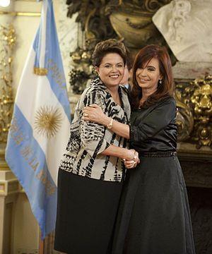 Rousseff Kirchner