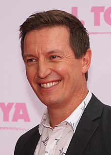 Rove McManus Australian comedian and television host