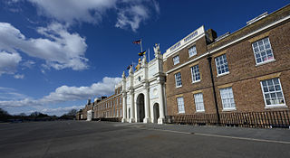 barracks in the Royal Borough of Greenwich in London, England