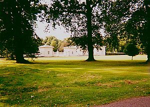 Royal Lodge - The entrance gates in 1999