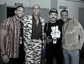 RuPaul and his Pit Crew at Dragcon by dvsross.jpg