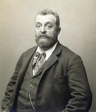 Pan-Germanism - Image: Rudolf Krziwanek Georg Ritter von Schönerer, um 1893