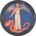 Rudolf Steiner's Apocalyptic Seal - 6 thousand year reign.png