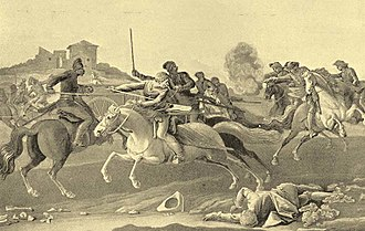 Rákóczi's War of Independence - Kuruc–Labanc battle