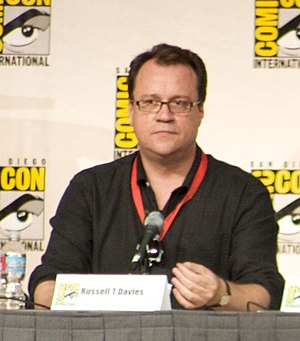 Harriet Jones - Russell T Davies (pictured) wrote the character of Harriet Jones for Penelope Wilton, with whom he had previously worked.